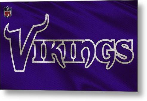 Minnesota Vikings Uniform by Joe Hamilton