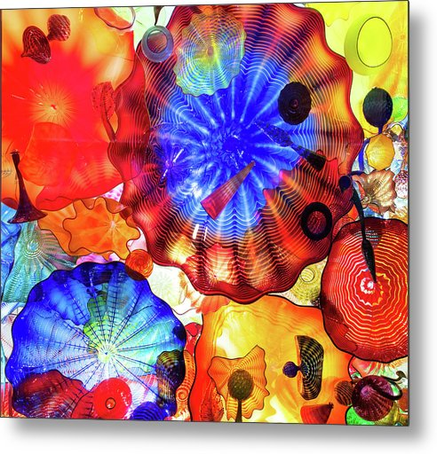 Glass Flowers of Vibrant Color by Quin DeVarona