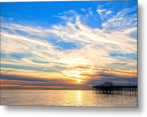 Balboa Sunset and Pier Landscape HDR by Chris Brannen
