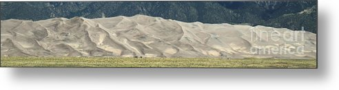 Great Sand Dunes Metal Print featuring the photograph Great Sand Dunes by Patrick Short