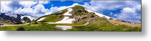 Mountains Metal Print featuring the photograph The Rockies by Vartika Singh