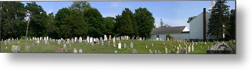 Grave Yard Metal Print featuring the photograph Old Burial Ground by Sam Smyth