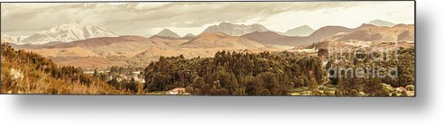 Wide Metal Print featuring the photograph Zeehan And Beyond by Jorgo Photography - Wall Art Gallery