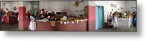 D140215-146 Metal Print featuring the photograph Indoor Market by Ty Lee