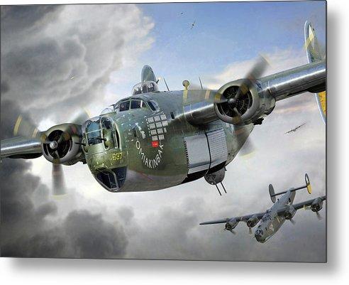 B-24 Liberator 'OMIAKINBAK' by Ron Cole