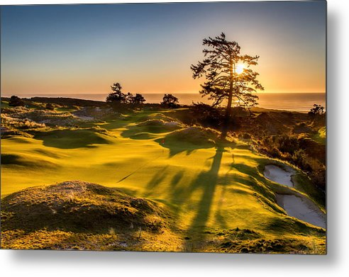 Bandon Preserve Sunset by Mike Centioli