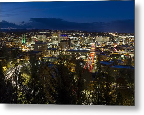 Cliff Drive Rush Hour - Spokane  by Mark Kiver