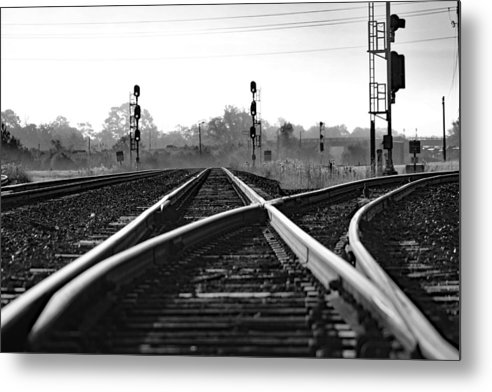 Tracks - Black and White by DBHayes