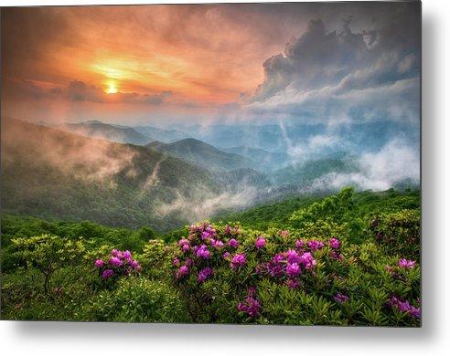 North Carolina Blue Ridge Parkway Spring Appalachian Mountains NC by Dave Allen