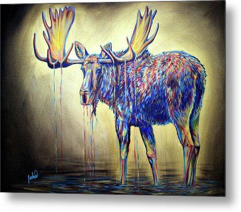 Moose Visions by Teshia Art