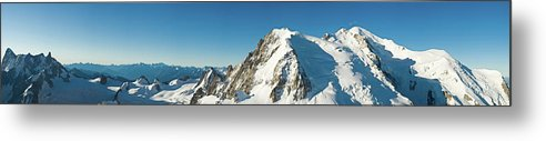 Scenics Metal Print featuring the photograph Glorious Mountain Vista Xxxl by Fotovoyager