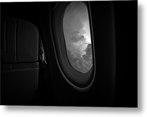Airplane Metal Print featuring the photograph Bonding With God by Carmit Rozenzvig