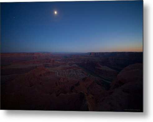 U.s.a. Metal Print featuring the photograph Dead Horse Point by Luigi Barbano BARBANO LLC