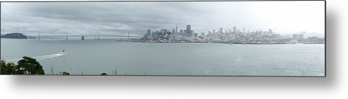 Cityscape Metal Print featuring the photograph Downtown San Francisco by Sebastian Bossung