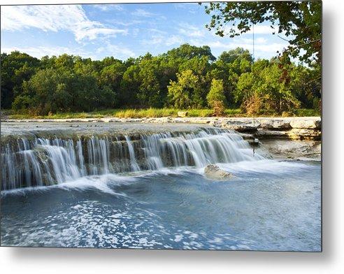 Waterfalls At Bull Creek by Mark Weaver