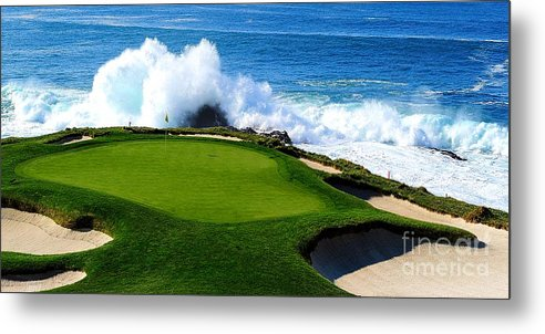 7th Hole - Pebble Beach  by Michael Graham