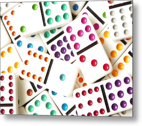 Bright Domino Spots by Helen Standing