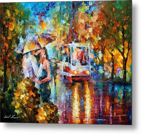 Kiss Of Love by Leonid Afremov