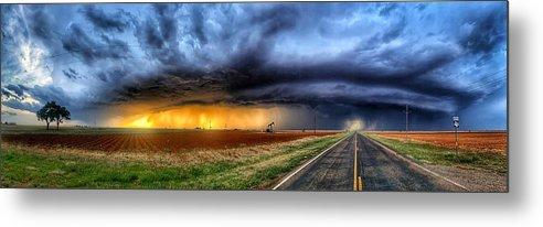 Texas Stormy Sunset by Jerry Fletcher