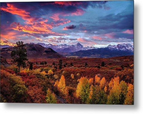 Morning Drama in the Colorado Rockies by Andrew Soundarajan