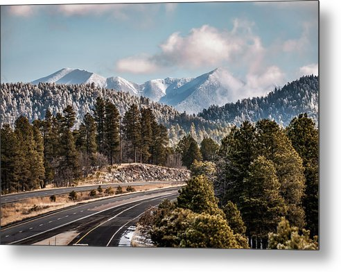 Flagstaff Arizona Frosty Mountain Landscape by Gregory Ballos