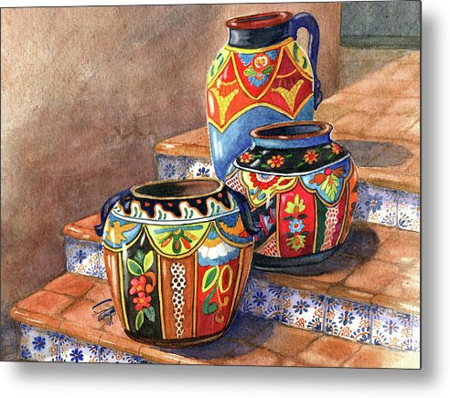 Mexican Pottery Still Life by Marilyn Smith