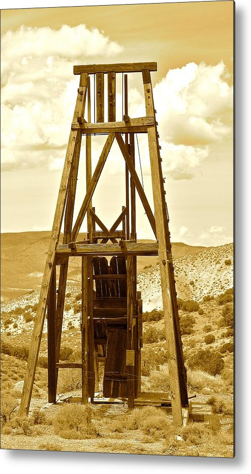 Tree Metal Print featuring the photograph Simon Mine by Meghan Lowry