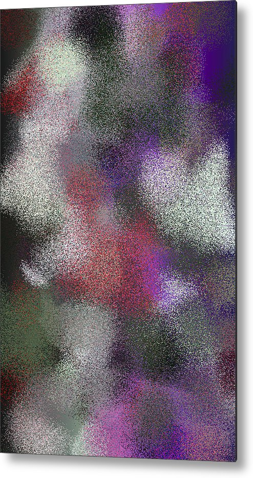 Abstract Metal Print featuring the digital art T.1.1002.63.3x5.3072x5120 by Gareth Lewis
