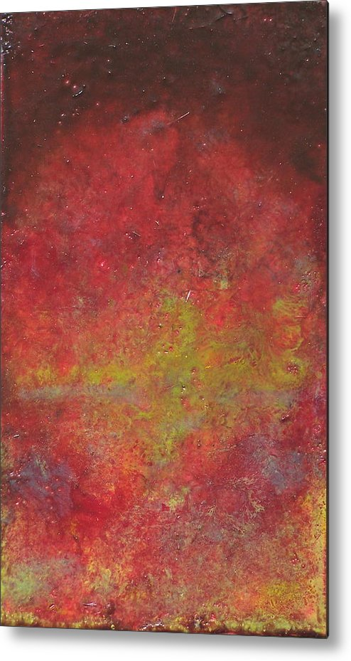 Abstract Metal Print featuring the painting Twilight by Karla Phlypo-Price