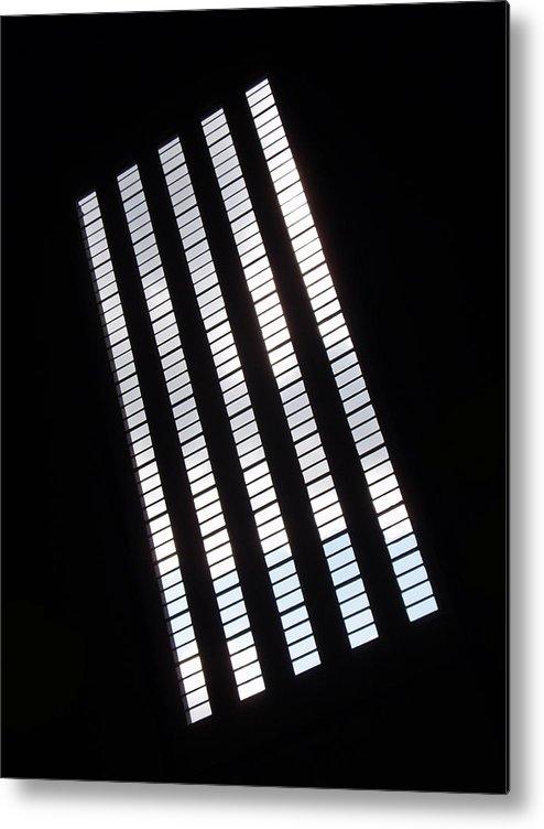 Abstract Metal Print featuring the photograph After Rodchenko by Rona Black