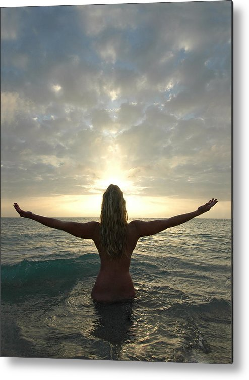 Sunrise Metal Print featuring the photograph 4008 Birth Of A New Day by Chris Maher
