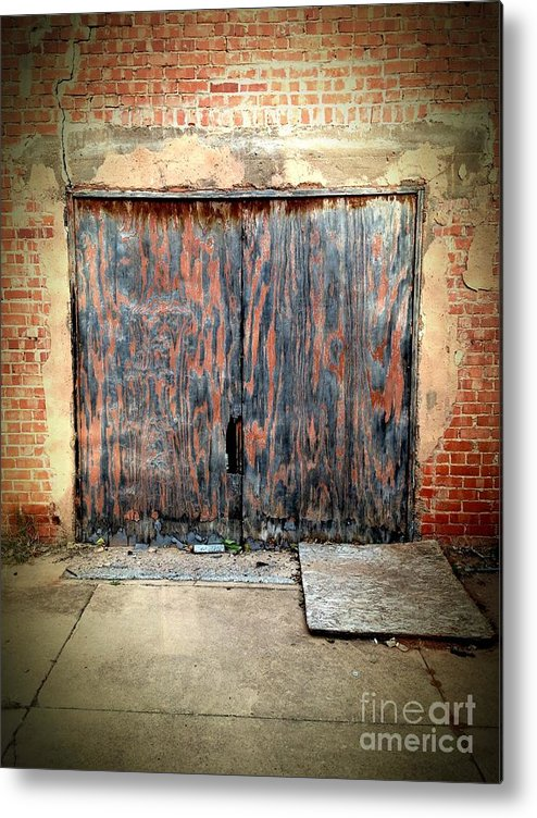 Door Metal Print featuring the photograph 524 Indie by Sara Webb