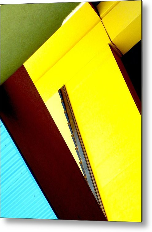 Abstract Metal Print featuring the photograph Above And Beyond. by Clayton Odom