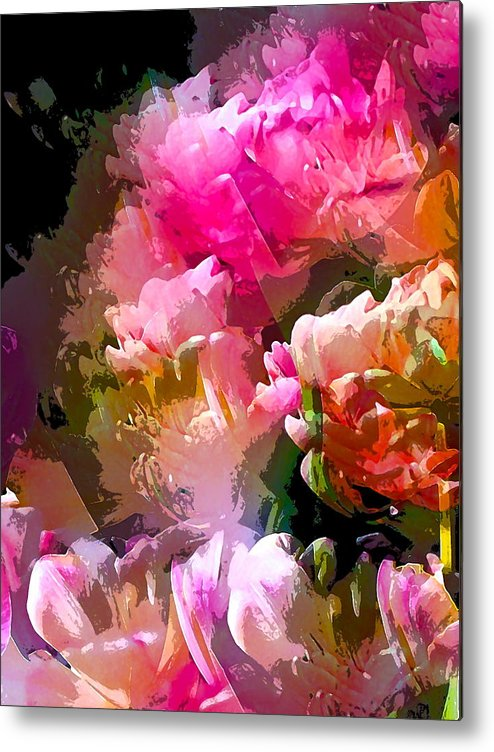 Abstract Metal Print featuring the photograph Abstract 272 by Pamela Cooper