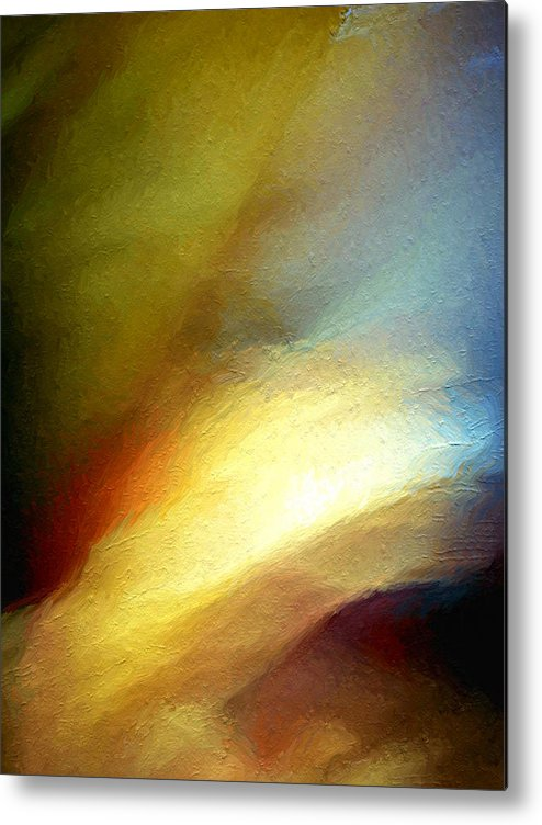 Abstract Metal Print featuring the photograph Another Chance. by Clayton Odom