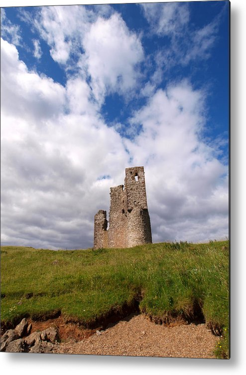 Ardvreck Castle Metal Print featuring the photograph Ardvreck Castle Portrait by Michaela Perryman