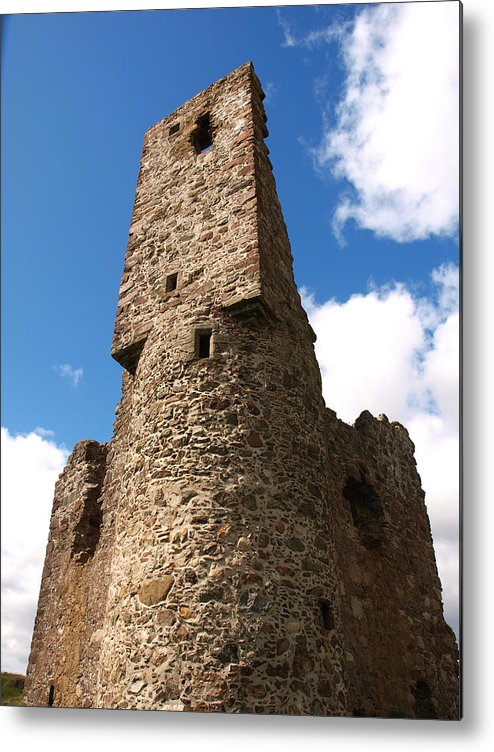 Ardvreck Castle Metal Print featuring the photograph Ardvreck Tower by Michaela Perryman