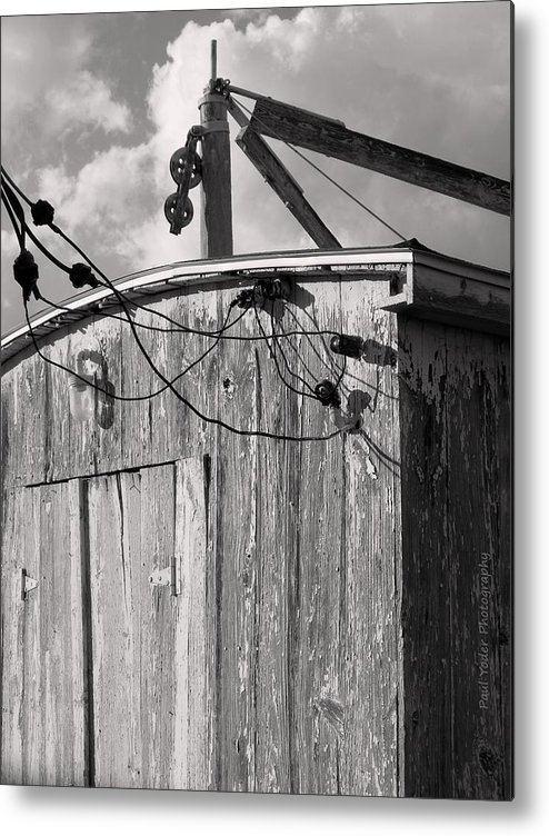 Maryland Metal Print featuring the photograph Boat Shed by Paul Yoder