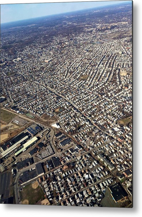 Boston Metal Print featuring the photograph Boston From Above by Paul Wilford