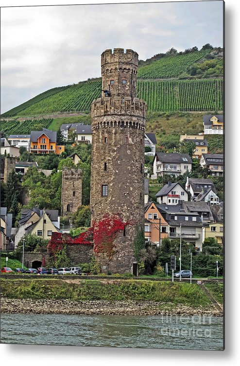 Travel Metal Print featuring the photograph Castle Of The Rhine by Elvis Vaughn