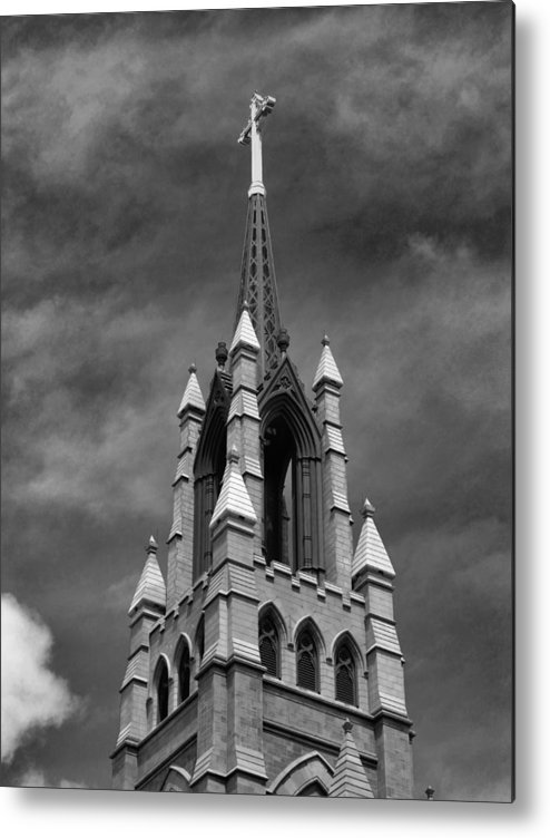 Cathedral Metal Print featuring the photograph Cathedral Spire by Morgen Walker