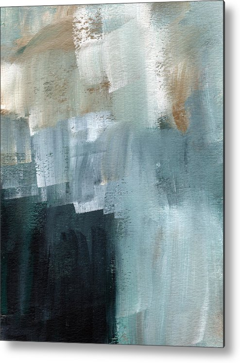 Abstract Art Metal Print featuring the painting Days Like This - Abstract Painting by Linda Woods
