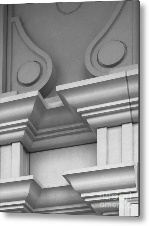 Depauw University Metal Print featuring the photograph De Pauw University Detail by University Icons