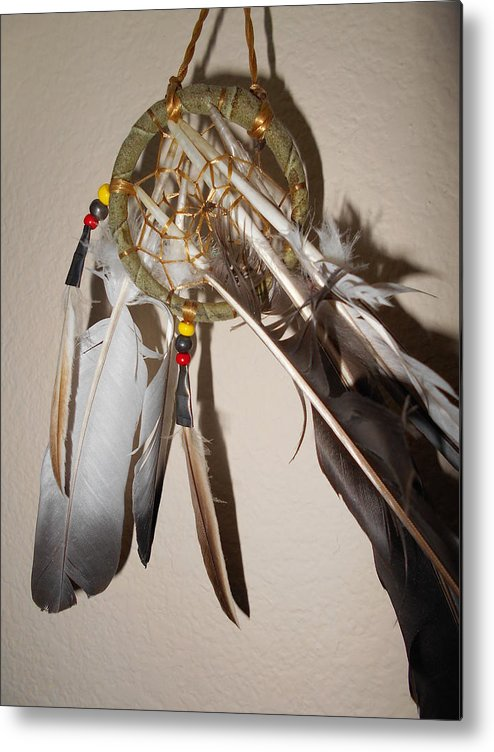 Dream Catcher Metal Print featuring the photograph Dream Catcher by Isabella McClellan