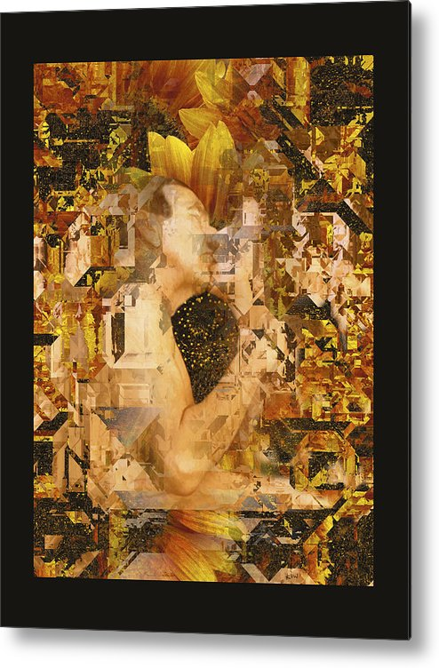 Nude Metal Print featuring the photograph Eternally Yours by Kurt Van Wagner
