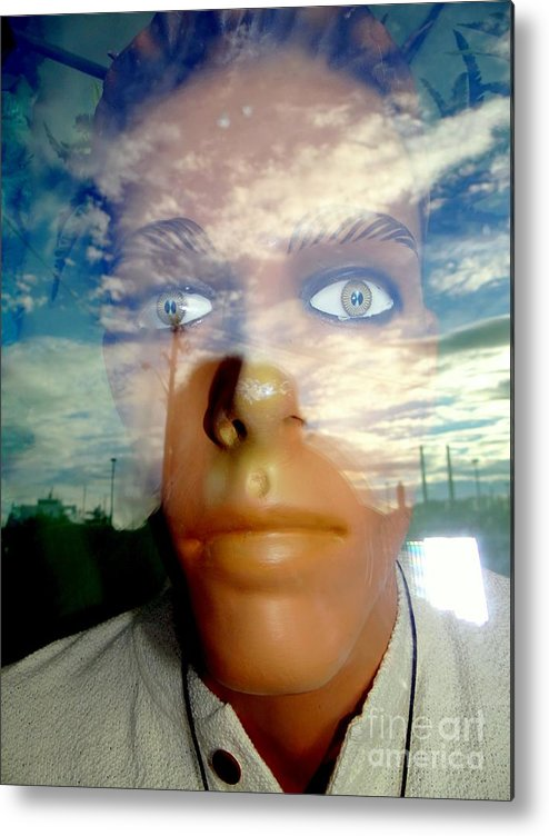 Mannequins Metal Print featuring the photograph Eyes On The Horizon by Ed Weidman