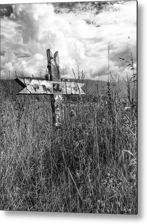 Graveyard Metal Print featuring the photograph Field Of Faith by The Artist Project