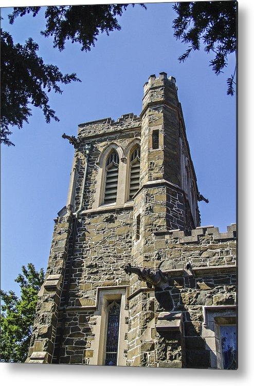 Gothic Church Metal Print featuring the photograph Gothic Church by Eric Swan
