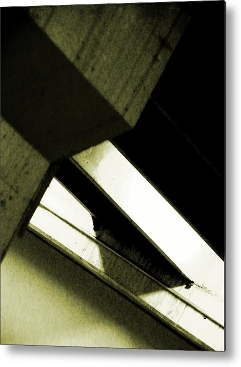 Abstract Metal Print featuring the photograph In Search Of The Angle by Clayton Odom