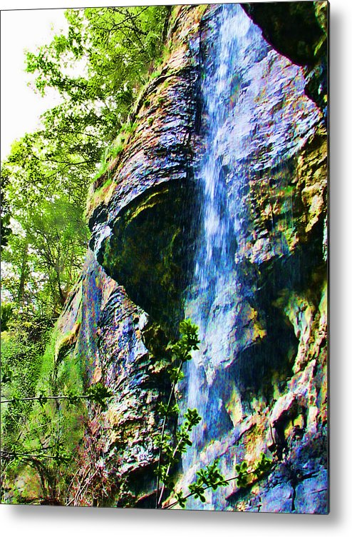 Falls Metal Print featuring the photograph Indian Ladder Falls 2 by Joe Bledsoe